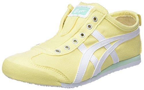 0301 Yellow Meringue 66 Women's Sneakers White Lemon Asics Top on Slip Low Mexico Bw8nUqa7