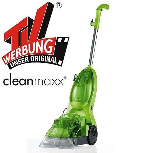 Clean Maxx Teppichreiniger Nasssauger TV Werbung Inkl. 500ml Teppichshampoo