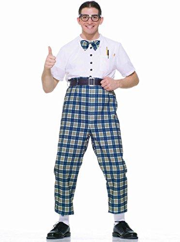 [Forum Novelties Men's Fabulous 50's Class Nerd Costume, Multi, Standard] (50s Mens Costumes)