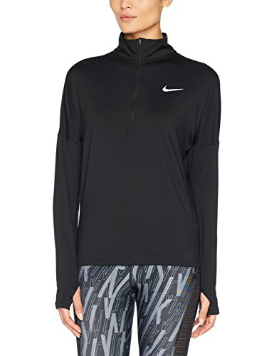 Nike Women's Dry Element Running Top Black Size Small by Nike (Image #3)