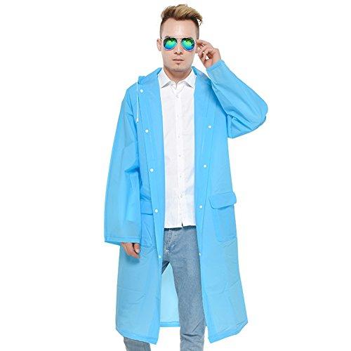 Plein Air Cyclisme Imperméable couleur Taille Adulte poncho Extérieure Double Sports De Bleu Une Long Randonnée Pièce L Xjlg Green Costume 6pOqnft