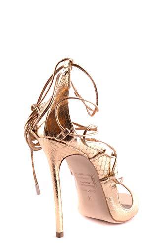 Sandales Cuir Or S16c2013177043 Dsquared2 Femme qaxCpUAIw