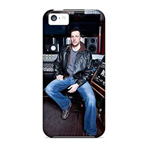 Protective Hard Cell-phone Cases For Iphone 5c (LPT16425tSSa) Unique Design Fashion Dragonforce Band Series