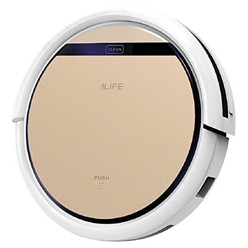 ILIFE V5s Pro Robot Vacuum Mop Cleaner with Water Tank, Automatically Sweeping Scrubbing Mopping Floor Cleaning Robot Voltage=100-240V