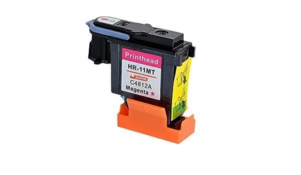 rightink 1 Pack magenta (C4812 A) Recambio de cabezal de impresión ...