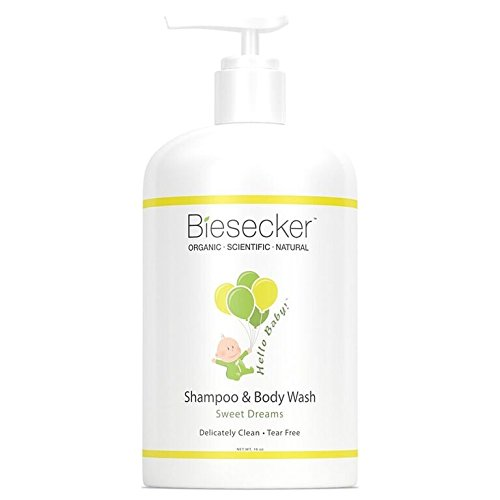 Biesecker Body Care - Hello Baby! Shampoo & Body Wash - Sweet Dreams, 16 oz