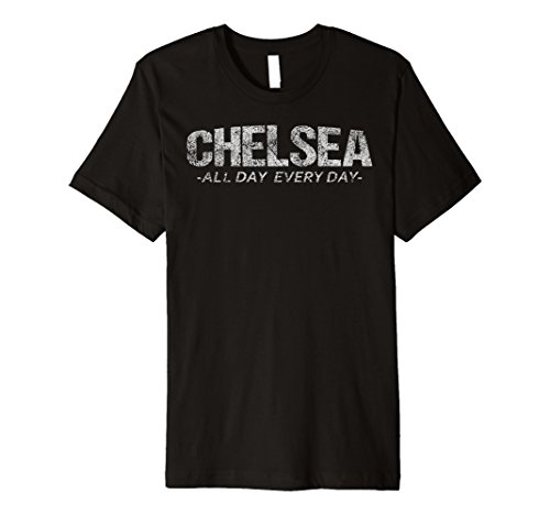 Chelsea Graphic T-shirt (Vintage Chelsea NY All Day Every Day Premium T Shirt)