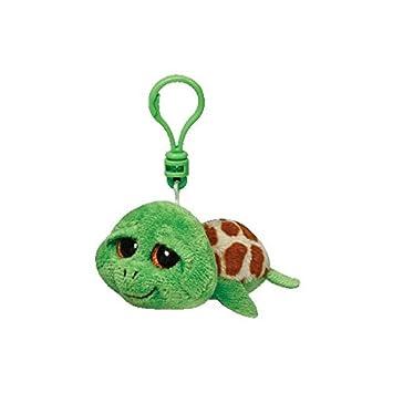 Ty Beanie Boos Zippy Tortuga Schluesselanhaenger Verdes 8,5 cm