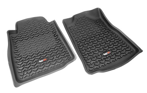 Rugged Ridge All-Terrain 82904.15 Black Front Row Floor Liner For Select Toyota Tacoma Models