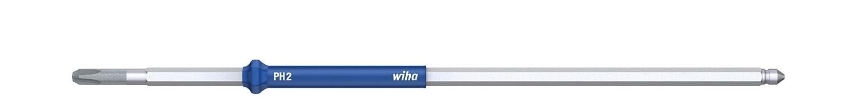 Wiha Wechselklinge Phillips f/ür Drehmoment-Schraubendreher mit L/ängsgriff 0,4 Nm PH00 x 175 mm 26196