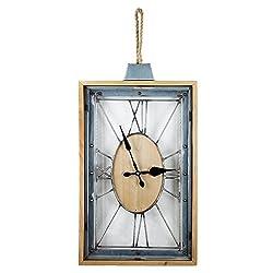 American Art Decor Roman Numerals Clock (Battery Operated)