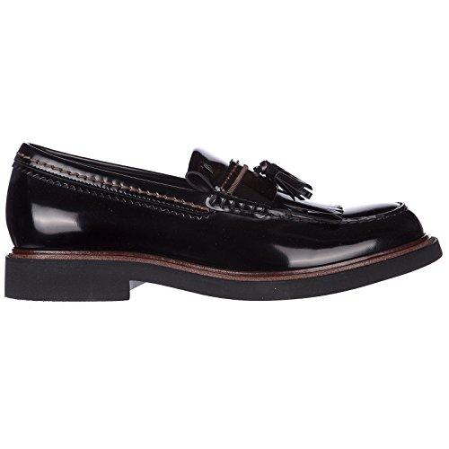 buy online 51720 7f830 Tod s Men s Men s Men s Leather Loafers Moccasins Black Parent B07CZ7CG89  a2b94d
