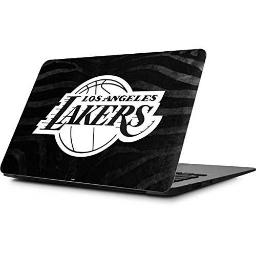 Skinit NBA Los Angeles Lakers MacBook Air 11.6 (2010-2016) Skin - Los Angeles Lakers Black Animal Print Design - Ultra Thin, Lightweight Vinyl Decal Protection by Skinit