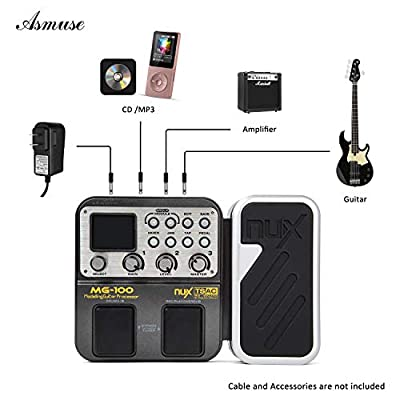 Mg-100 Professional Guitar Multi Effects Pedal 3