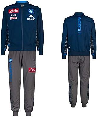 Maestri del Fútbol Chándal Representación Zip Azul S.C. Napoli ...
