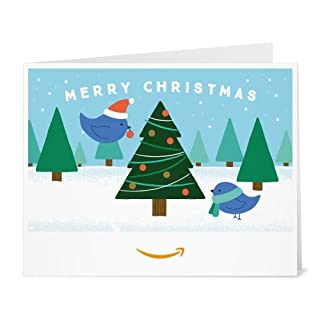 Amazon Gift Card - Print - Christmas Tree Birds (B01LXZHS2Z) | Amazon price tracker / tracking, Amazon price history charts, Amazon price watches, Amazon price drop alerts
