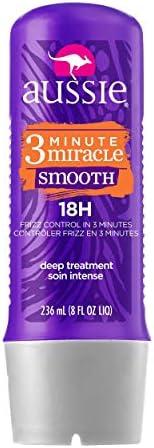 Tratamento Aussie Smooth 3 Minute Miracle 236Ml, Aussie