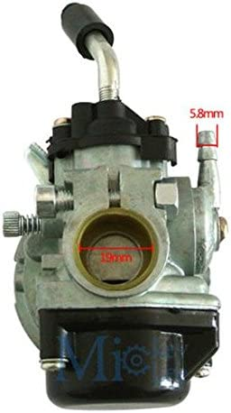 Qiankun 49cc 66cc 70cc 80cc 2 Stroke Engine Motorized Bicycle Bike Carb Racin Carburetor silver