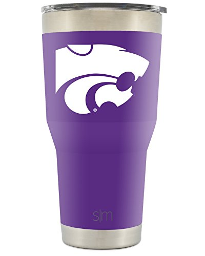 Simple Modern Kansas State University 30oz Cruiser Tumbler - Vacuum Insulated Stainless Steel Travel Mug - KSU Wildcats Tailgating Hydro Cup College Flask