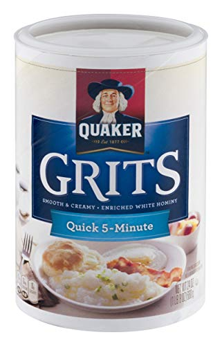 Quaker 5-Minute Grits, 24 Ounce Canister