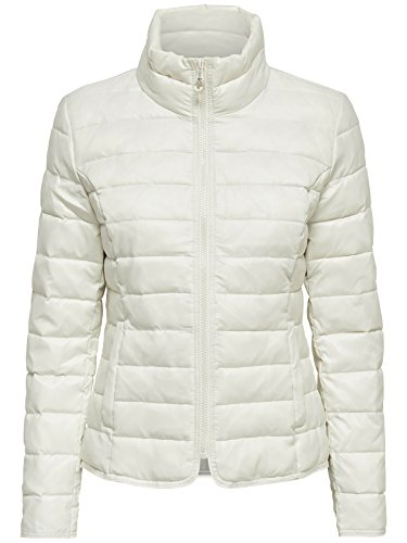 ONLY Onltahoe Contrast Hooded Jacket CC OTW 15118836 - Chaqueta para mujer CLOUD DANCER