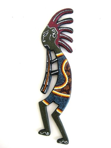 Kokopelli Wall Decor Statue Native American Southwest Wal...