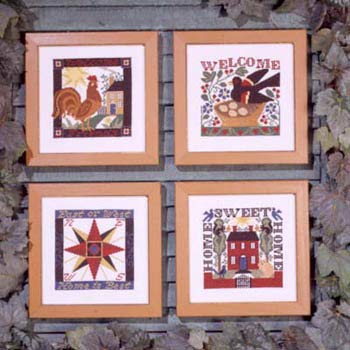 Welcome Cross Stitch Chart (Welcome Home (Book No. 92) Cross Stitch Chart)