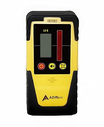 AdirPro 790 - 01 ld-8 Universal Rotary Laser Detector de receptor con soporte de barra: Amazon.es: Amazon.es