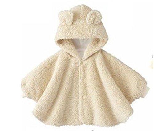 Gaorui Warm Winter Kid Baby Boy Girl Cloak Hoodie Rabbit Poncho Cape Coat Snowsuit Outwear