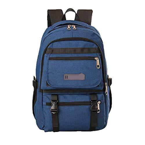 Men's Oxford Shoulder Blue capacity Business Cloth Bag Dhfud Computer Large BqZxHw5A