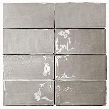 Fantastic 12 X 24 Ceramic Tile Small 12X12 Ceiling Tiles Asbestos Regular 2X2 Floor Tile 2X4 Tin Ceiling Tiles Youthful 2X4 Vinyl Ceiling Tiles Red3 X 8 Subway Tile Amazon.com: Catalina Gris 3 In. X 6 In. X 8 Mm Ceramic Floor And ..