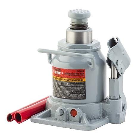 Amazon.com: Pro-LifT B-S12D Grey Hydraulic Bottle Jack - 12 Ton Capacity: Automotive