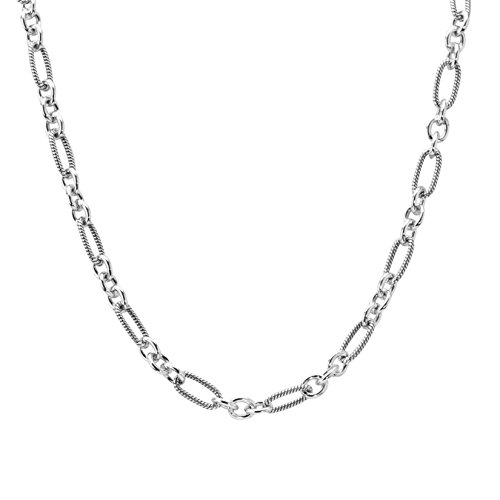 Carolyn Pollack Sterling Silver Link Chain Necklace by Carolyn Pollack