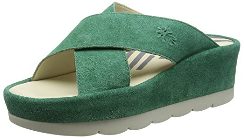 Fly London Vrouwen Bema851fly Sandaal Avocado Suede