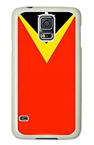 Samsung Galaxy S5 East Timor Flag PC Custom Samsung Galaxy S5 Case Cover White