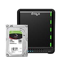 Drobo 5N2: Network Attached Storage (NAS) 5-Bay Array, 2X Gigabit Ethernet Ports