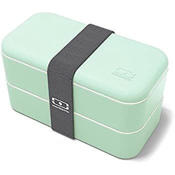 monbento mb original bento box green white kitchen dining. Black Bedroom Furniture Sets. Home Design Ideas