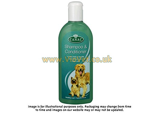 Canac Dog Shampoo & Conditioner 250ml (pack Of 6)