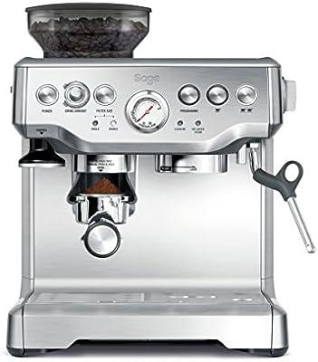 SAGE SES875 the Barista Express, Cafetera espresso, Cappuccinatore, 15 Bar, Acero Inoxidable: Amazon.es: Hogar