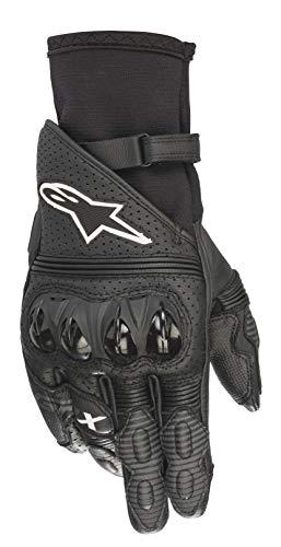 - Alpinestars GP X V2 Motorcycle Breathable Hardknuckle Stealth Riding Gloves (2X-Large, 10-Black)