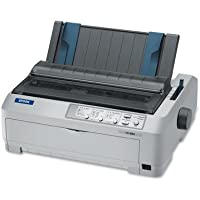 EPSC11C524001 Dot Matrix Printer, 680 Spd Draft,16-3/10x13-4/5x6-3/5,GY