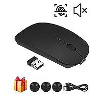 Etmury ワイヤレスマウス,マウス 高精度 USB充電式 持ち運び便利 ...