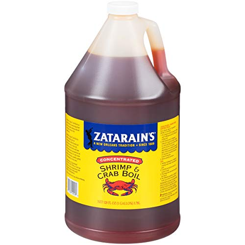 (Zatarain's New Orleans Style Crawfish, Shrimp & Crab Boil, 128 fl oz )