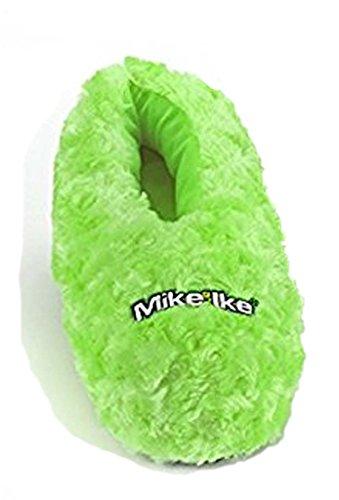 Mike Og Ike Voksne Fuzzy Tøfler Grønn