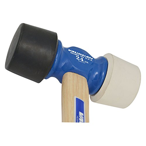 Vaughan RM24 14-Inch Professional Rubber Mallet with Flame-Treated Hickory Handle by Vaughan & Bushnell (Image #3)