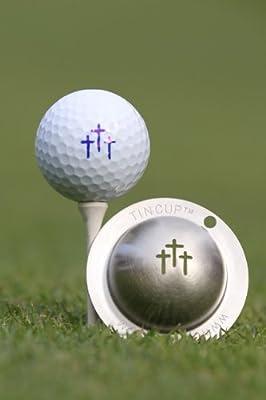 Tin Cup Divine Intervention Golf Ball Marking Stencil, Steel