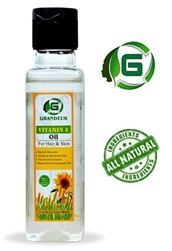 Grandeur Vitamin E Oil for Skin And Hair 3.38FL.OZ.LIQ 100ml