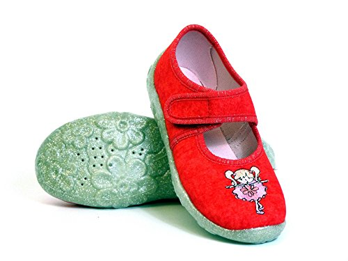Chaussures Superfit Filles Enfants Intérieur Rouge Bonny (feu) 6-00282-70 LY5UxHabb