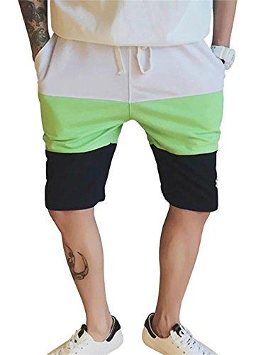 ZGHUA Men's Straight Sports Shorts (Black 31)