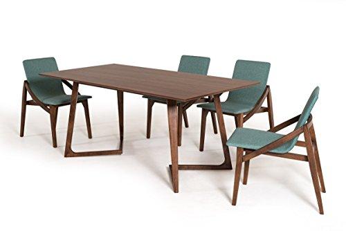 Limari Home LIM-17531 Arella Dining Table, Walnut